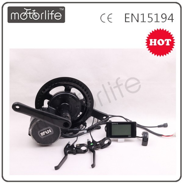 Motorlife supply BBS01 BBS02 250W~750W 8fun/bafang middle/central driven motor 48v 750w