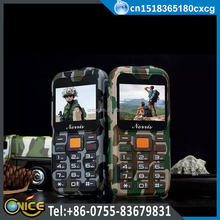 K3 rugged dual SIM mobile phone 4400mah big battery can use as a power bank