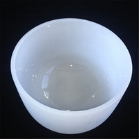 Milky White Opauqe Sintered Quartz Glass Melting Crucible For Lab