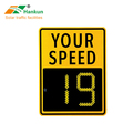 Radar speed screen full dot matrix LED display traffic outdoor LED speed display