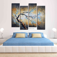 Living room wall pictures abstract group oil painting for decoration