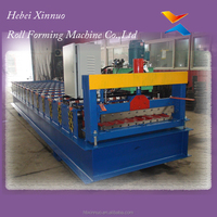 hebei xinnuo 900 type metal roofing sheet price machinery