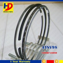 4TNV98 Engine Piston Ring Set For Excavator Diesel Engine 129907-22050