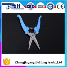 Professional TPR handle for long nose pruning shears with custome