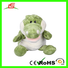 D1008 Babies Toddlers Velour Cute Crocodile Alligator Full Body Hand Puppet Toys