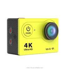Time lapse 4K camera 170 degree 20MP wifi action camera sj7000 with waterproof remote controller