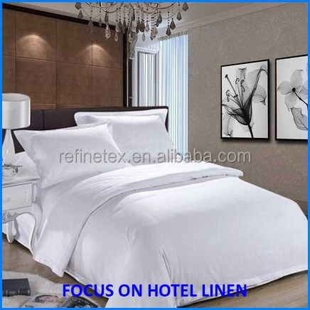 100%cotton plain/stripe/jacquard hotel bed cover duvet cover/bed sheet flat sheet/pillowcase