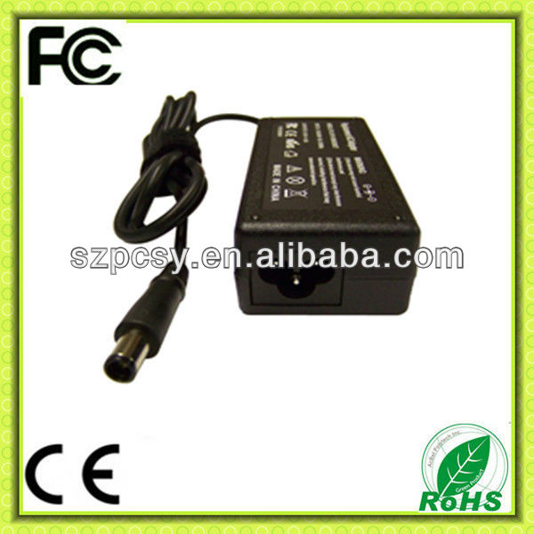 18.5V 3.5A for HP lap tops 65Watt power adapter desktop type with 3 prong outlet