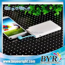 slim & portable credit card Power bank 2000mAh for Samsung mobile