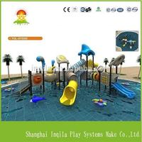 manufacturer selling used large plastic water park slide