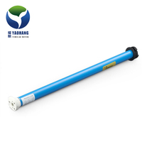 12V dc smart solar tubular motor,YM25CE/L-1.5Nm/30r ,roll up 25mm electric radio motor,solar panel or battery control system