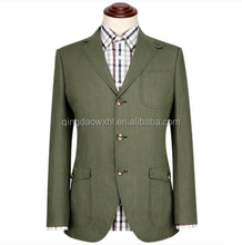 Latest men's casual suit for man casual with elbow patch