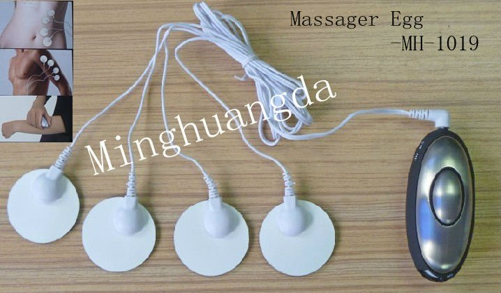 TENS massager machine with 4 electrodes pads