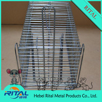 Standard Steel Wire Mesh Animal Cage Trap For Pest Control