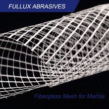 Fiberglass Meshes Marble Mosaic Mesh for Tiles Backing