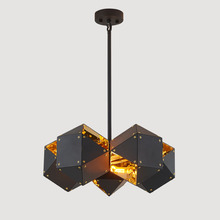 Modern Simple art Lamps and Lanterns Metal iron Chandelier
