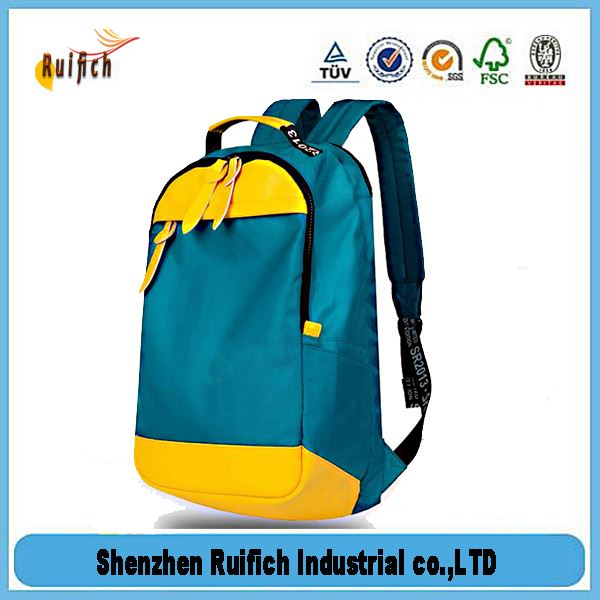 Newest polyester slazenger backpack bag,laptop backpack bag,2015 girl's laptop backpack