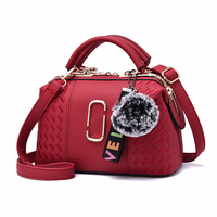 China manufacturer custom high quality fancy fashion new style pu leather hand bag