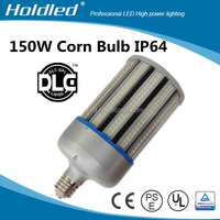 360dgree led street bulb light 150W dlc ul E39 E40 no fan led corn cob lamp supplier for enclosed fixtures