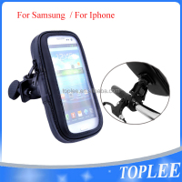 hotsale!!! Bicycle Motor Holder bar WaterProof Case For Cell Phones