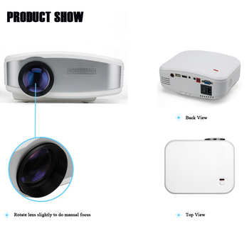 factory price for home use mini portable 1200 lumens projector light weight