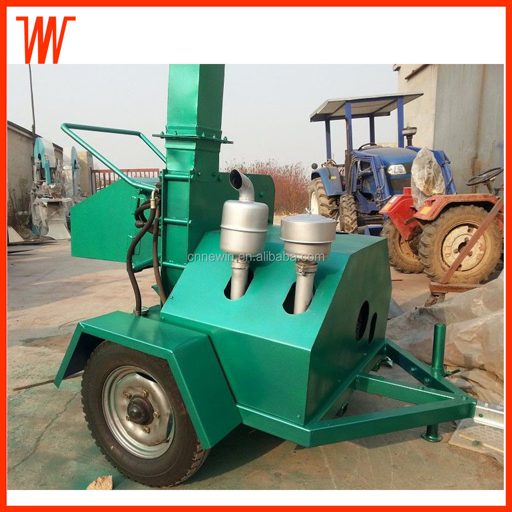 Diesel engine Industry Wood Chipper shredder