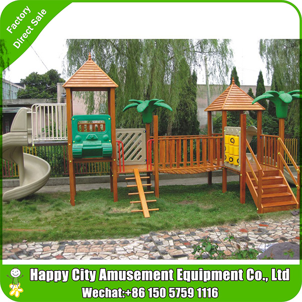 BEST China Playground Supplier supply wood play gym/playset wooden/ best wooden playsets
