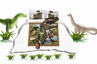 Amzing dianosaur printed bed cover sets for baby room