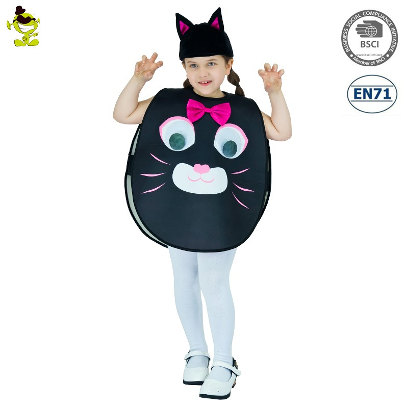 2017 Cartoon cute Kitty cat girls party costume animal mascot costumes