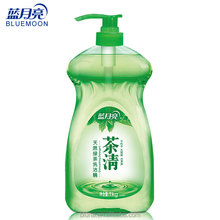 Bluemoon Tableware Vegetable Dish Washing brands Green Tea Dishwasher Plate Detergent Hand Protection Dishwashing Liquid