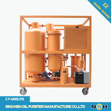 NSH LV Reverse Wash Situation Lubrication Purifying Equipment Oil Filter System
