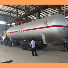 Liquefied Petroleum Gas Tri-axle Lpg Tanker Semi Trailer Truck Transportation