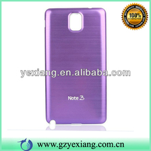 Bright Color Decoration Cell Phone Battery Cover Metal Case For Samsung Note 3