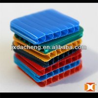 twin-wall extruded fluted polypropylene pp sheet/board