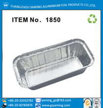 packaging for cake loaf pan restaurant take away aluminium foil container with lid