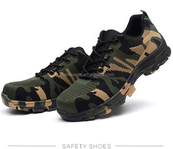 Wholesale Army Tactical safety shoes hiking shoes men