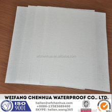 Strong tension non-woven polyester mat for bitumen membrane --- China factory price