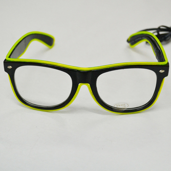 EL sound sound activated flashing glasses