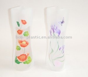 plastic collapsible flower vase