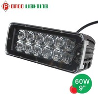 Mini light bar, 5w C.R.E.E leds offroad 60w mini light bar