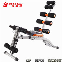 Best -060S best massage machine Six Pack Care abdominal fitness arm and leg trainer sit up ab machine as seen on TV spin trainer
