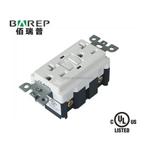 factory supply GFCI outlet NEMA5-15 Barep BRAND YGB-095 CUL listed