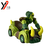 Custom Mini Kids Toys Cars Cartoon Gormiti Diecast Model Car