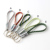 Cusmoize OEM Fabric braided nylon Keychain usb cable gift usb cable