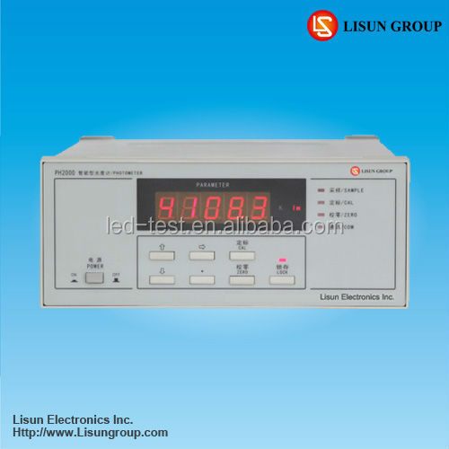 Photometer PH2000 high correcting accuracy of photo detector