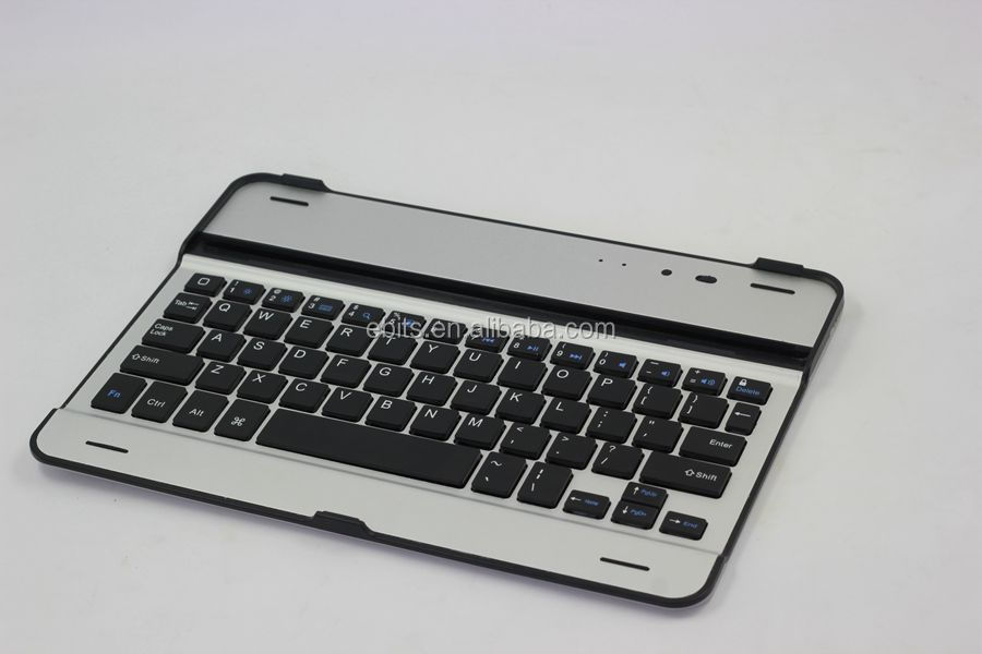 for iPad mini bluetooth keyboard for android Aluminum case