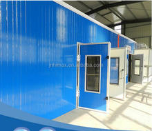 Small wood panel furniture spray paint booth ,painting room with cheap price