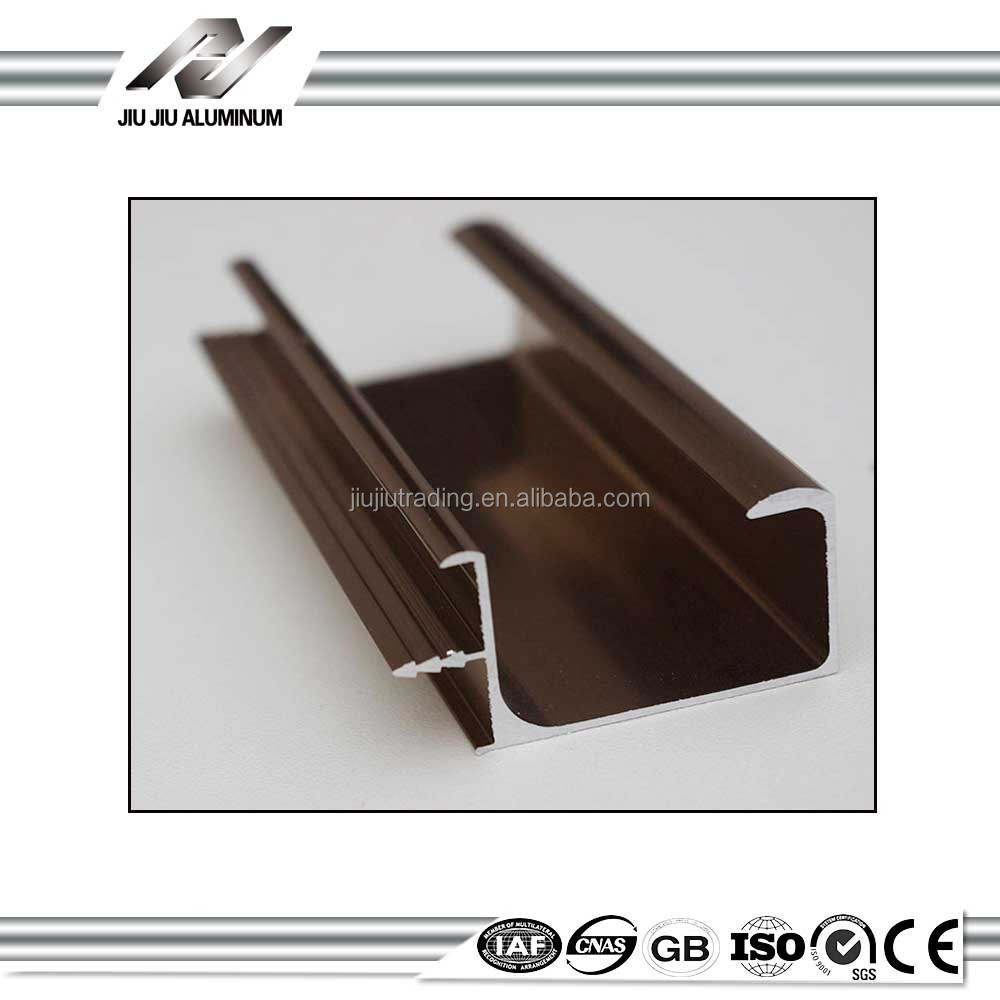 high quality aluminum window trim with CE, SGS, TUV certificated