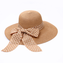 Wholesale Woman Summer Hats Wide Brim Lady Beach Paper Straw Hats