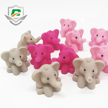 2018 new products Eco-friendly material plastic cheap wholesale multi animal shape color elephant bath toy for kids